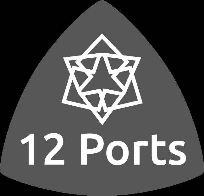 12Ports